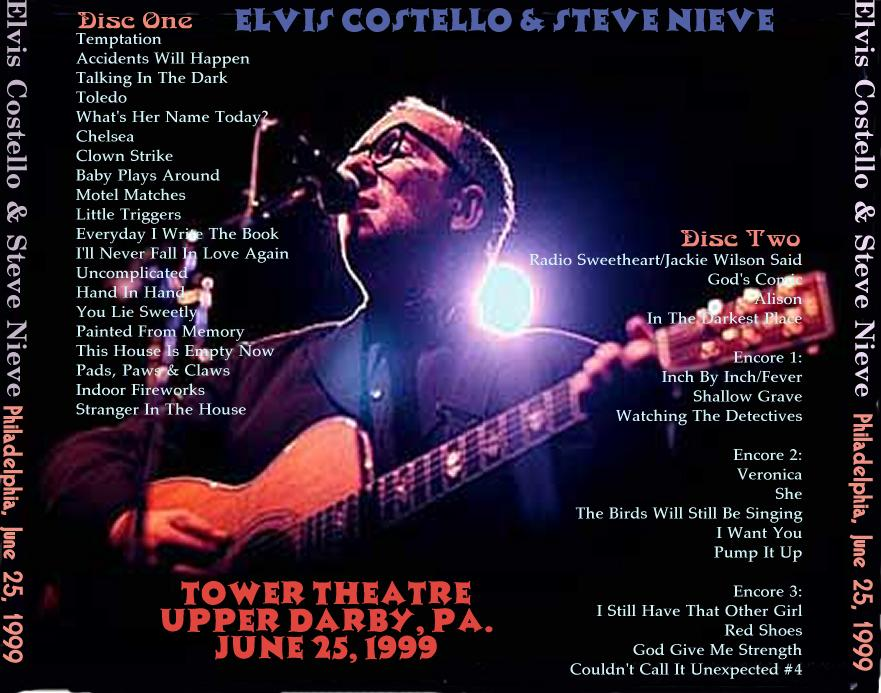 The Elvis Costello Home Page Discography Bootlegs Artwork