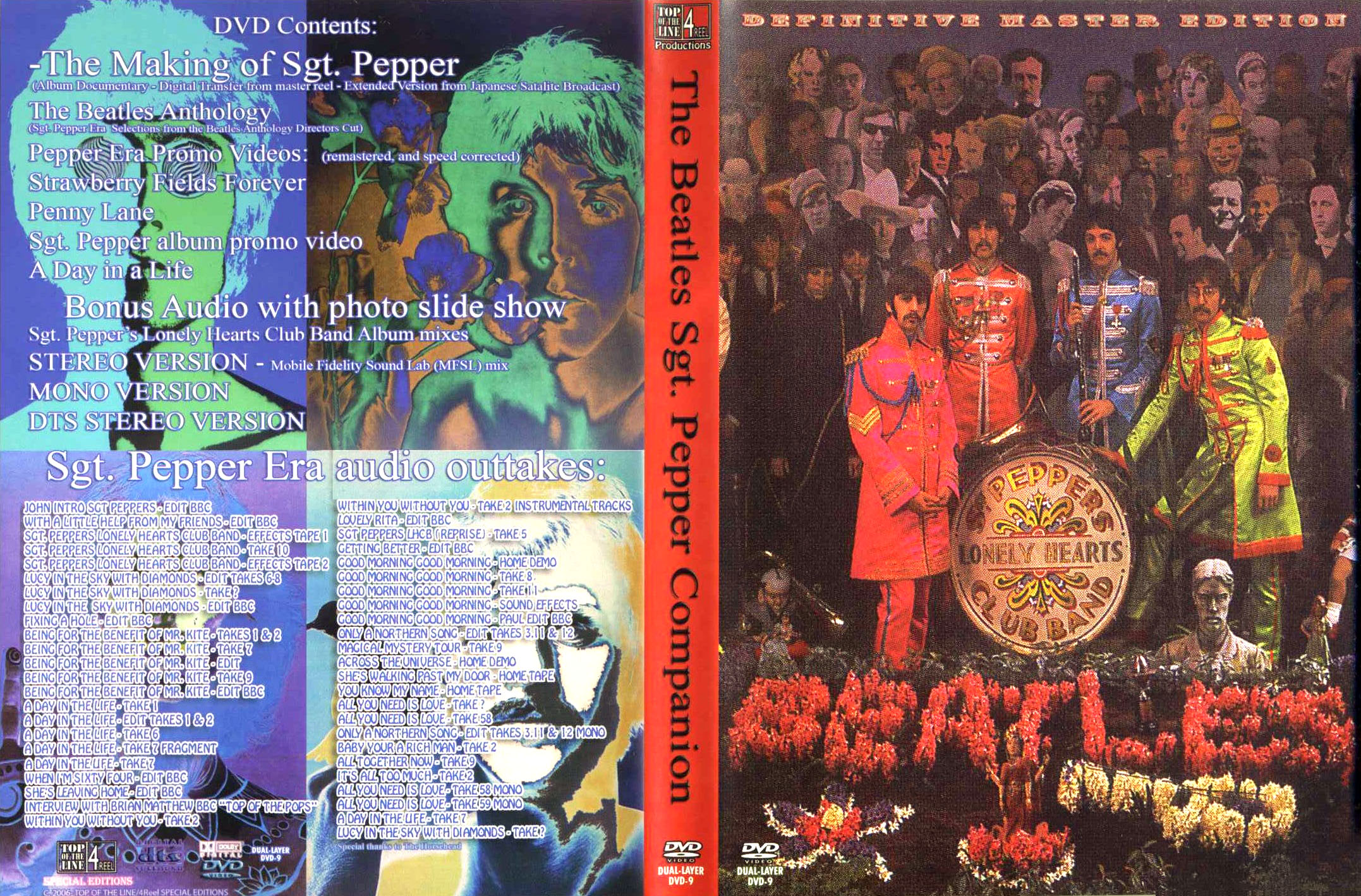 Beatles Sgt Peppers Lonely Hearts Club Band With A Little Help From My Friends