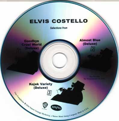 Elvis Costello Blue Shoes
