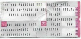 1977-12-09 Boston ticket.jpg