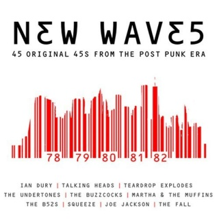 New Waves 45 Original 45s From The Post Punk Era album cover.jpg