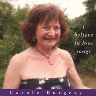 Carole Burgess I Believe In Love Songs album cover.jpg