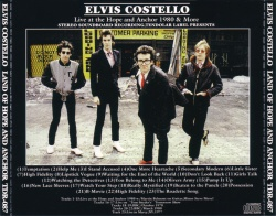 Bootleg: Land Of Hope And Anchor - The Elvis Costello Wiki