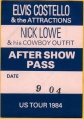 1984-09-04 Dallas stage pass.jpg
