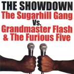Grandmaster Flash and the Furious Five vs the Sugar Hill Gang album cover.jpg