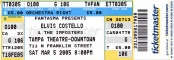 2005-03-05 Tampa ticket.jpg