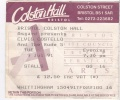 1991-07-09 Bristol ticket 1.jpg