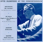 Beethoven Otto Klemperer Live At The Concertgebouw album cover.jpg