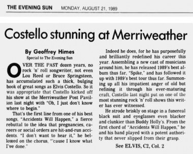 1989-08-21 Baltimore Evening Sun page C1 clipping 01.jpg