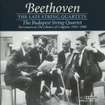 Beethoven Late Quartets Budapest String Quartet album cover.jpg
