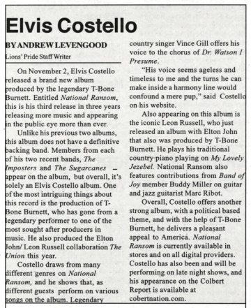 2010-10-19 Saint Leo University Lions Pride page 11 clipping 01.jpg