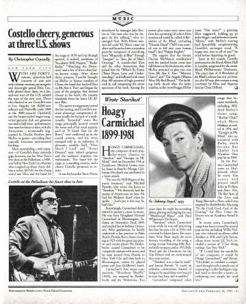 Rolling Stone, February 18, 1982 - The Elvis Costello Wiki
