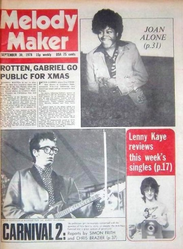 1978-09-30 Melody Maker cover.jpg