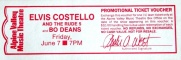 1991-06-07 East Troy ticket.jpg