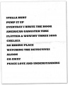 2008-05-20 The Woodlands stage setlist.jpg