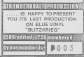 1979 Blitzkrieg Bootleg number certification.jpg