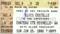 2006-06-25 Woodinville ticket Gilbert.jpg