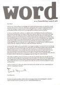 2005-02-00 The Word subscriber letter page 01.jpg