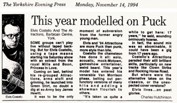 1994-11-14 Yorkshire Evening Press clipping 01.jpg